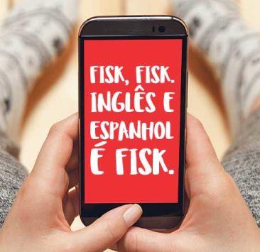 O inglês na palma das suas mãos!