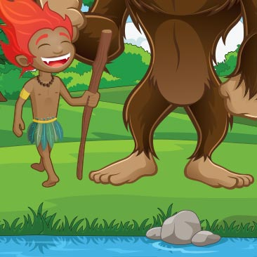 Dia do Folclore: Curupira vs Bigfoot