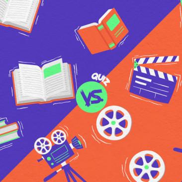 Livros vs. Filmes: teste seus conhecimentos sobre essas adaptações