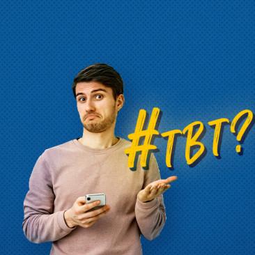 O que significa #tbt?