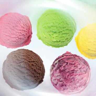 Os sabores de sorvete em inglês
