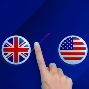Quiz: Inglês Britânico ou Inglês Americano?