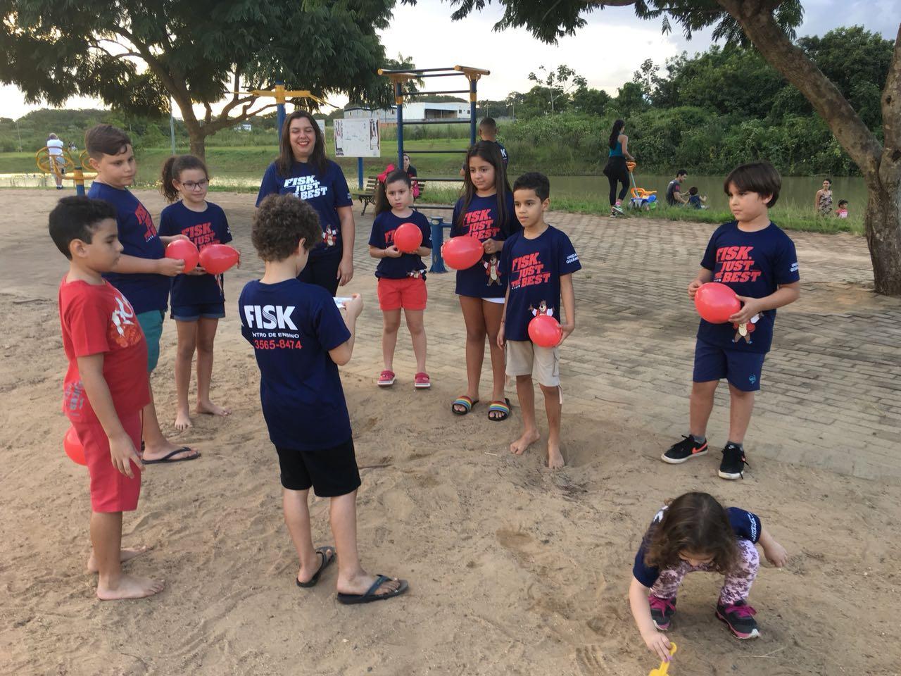 Fisk Goiânia/GO -  Piquenique com a turminha do Playground