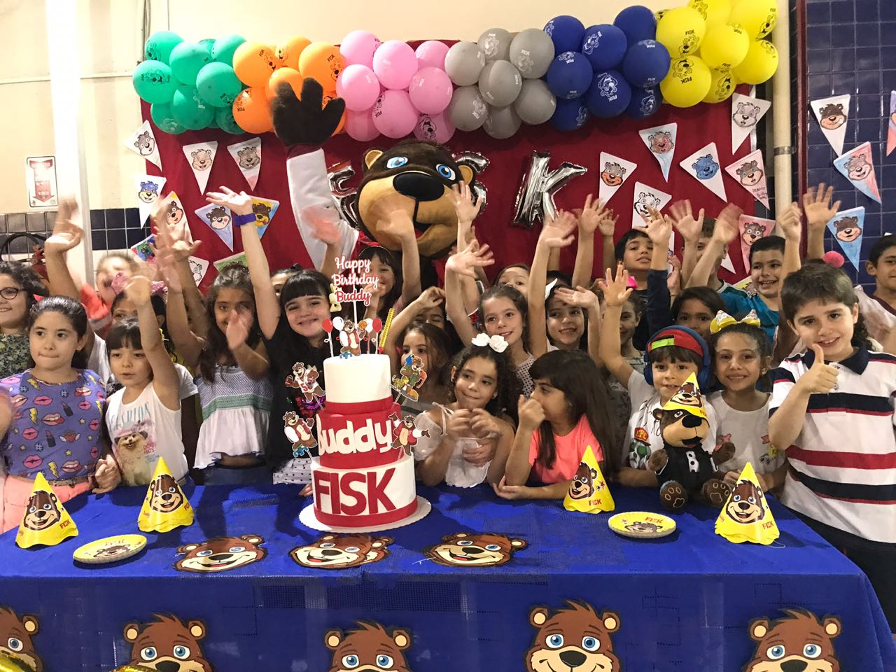Fisk Fortaleza (Aldeota)/CE - Buddy's surprise party!