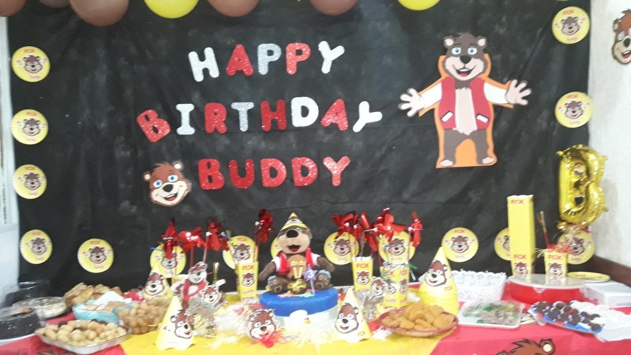 Fisk Cabo Frio/ RJ - Happy Birthday, Dear Buddy Fisk! - 2nd Fisk Game Night