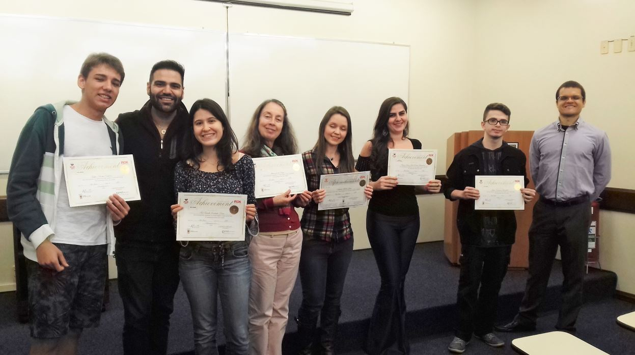 Fisk Vila Mariana/SP - Entrega de diplomas
