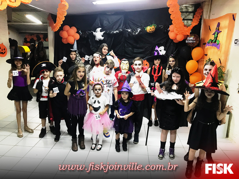 Fisk Joinville/SC - Halloween Fisk Joinville