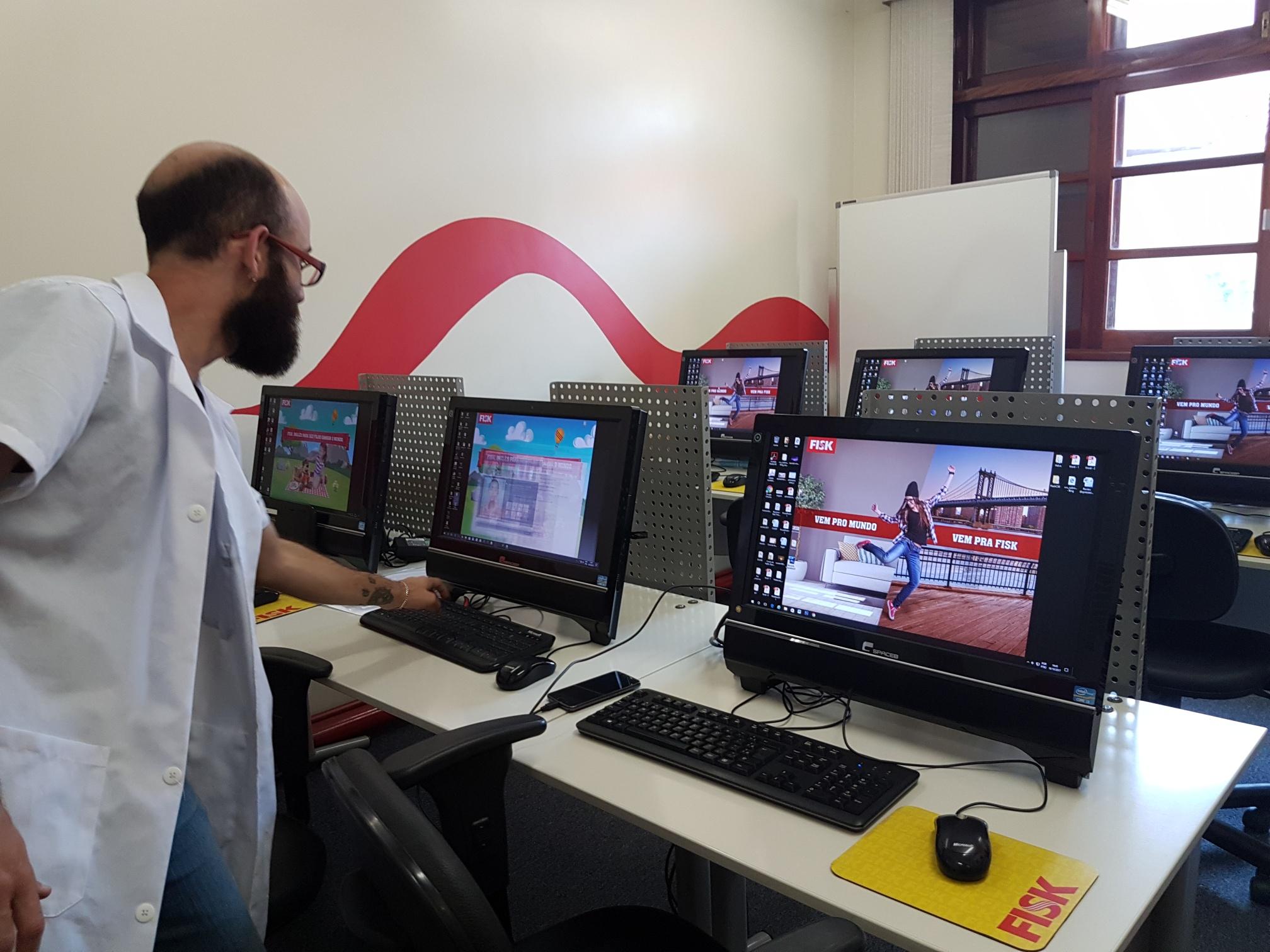 Fisk Sobral/CE – Visita à escola de Santo André/SP