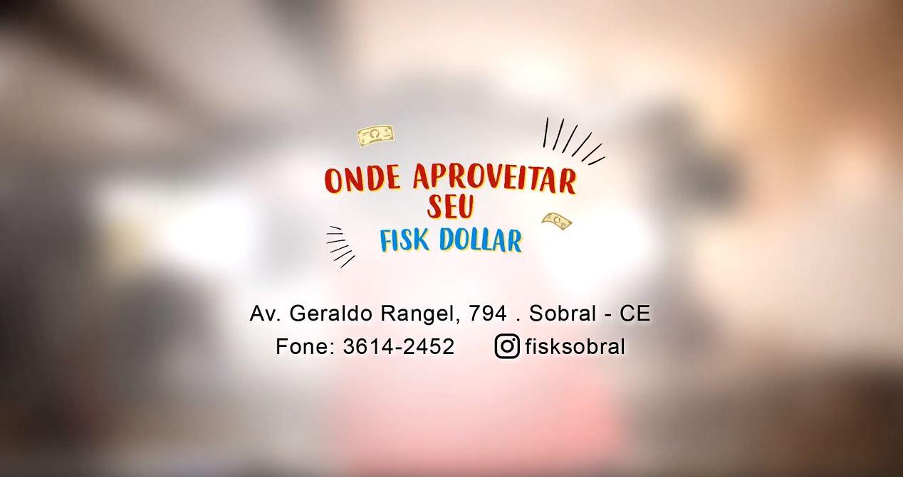 """Fisk Sobral/CE - """"Buddy gasta seus """"Fisk dollars"""" em Sobral"""""""