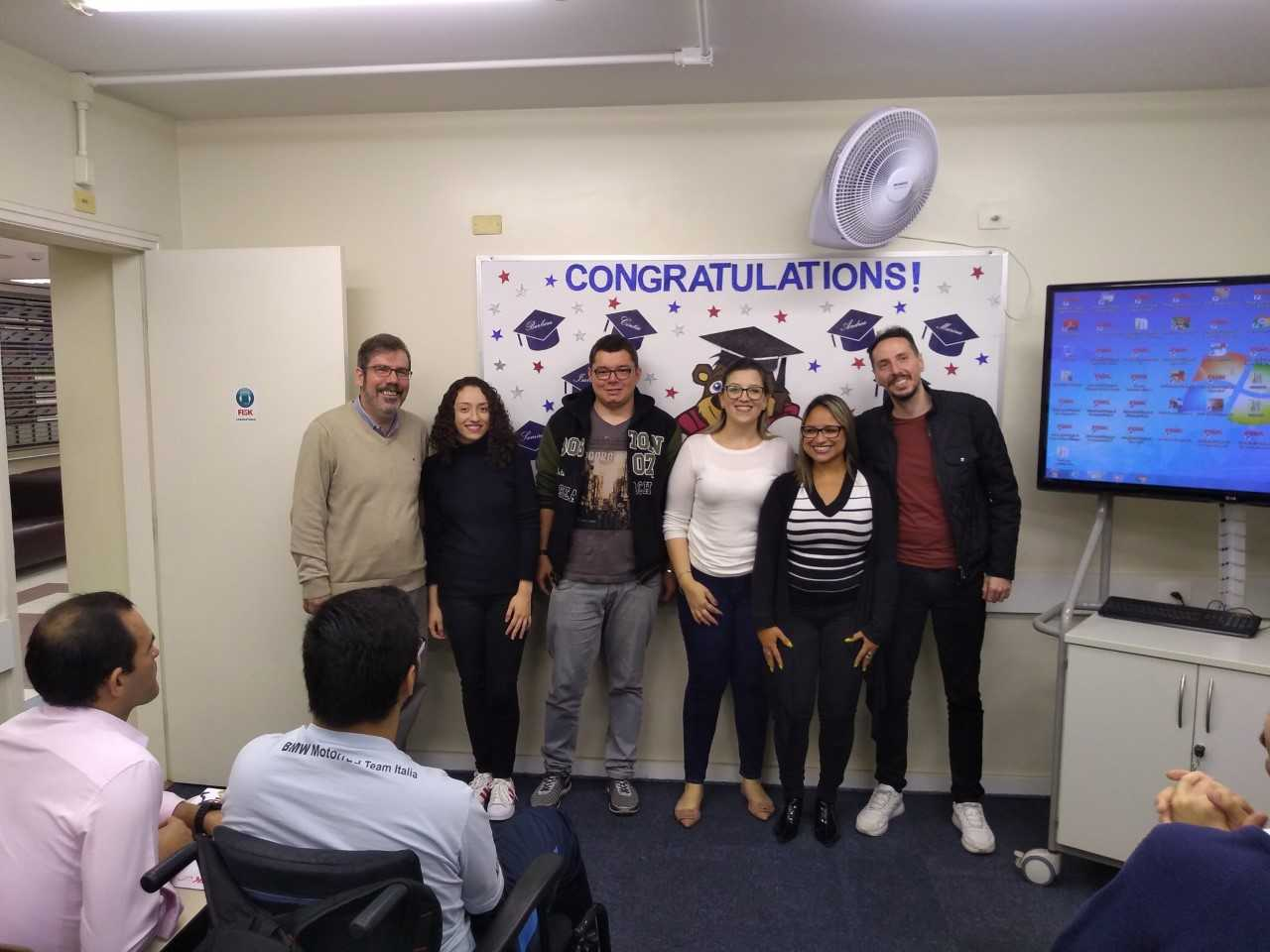 FISK SÃO PAULO (TATUAPÉ)/ SP - Entrega Certificados Conclusão de Curso.