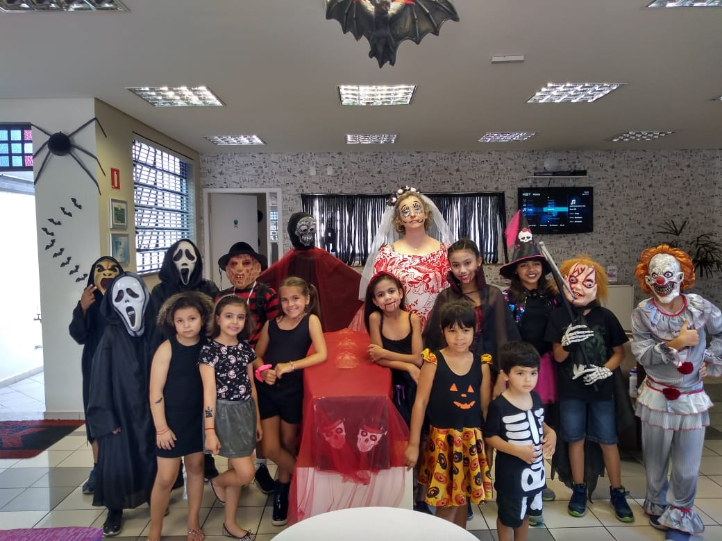 Fisk Freguesia do Ó/SP - Movie Session de Halloween 2019