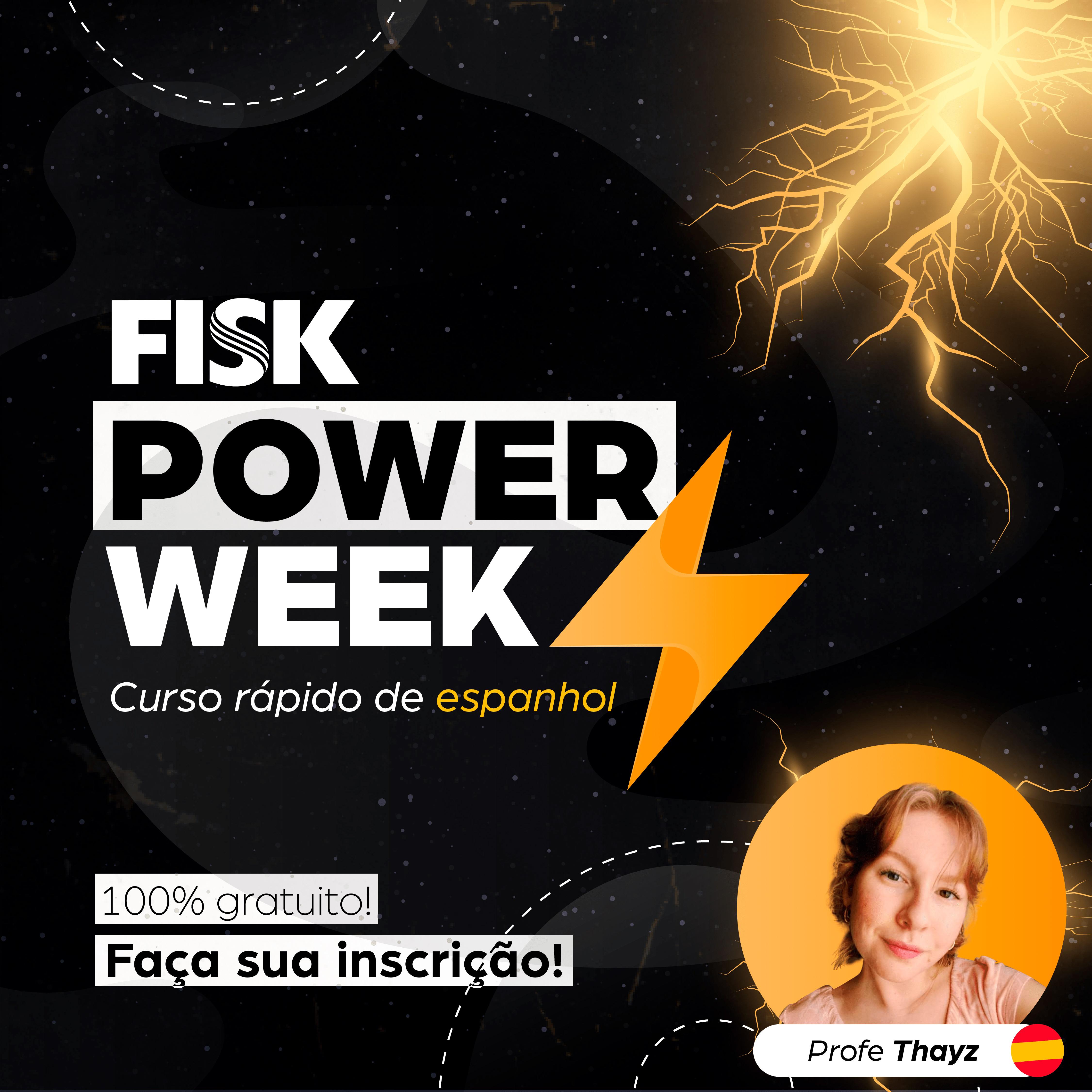 Fisk Caçapava e Taubaté/SP - Power Week