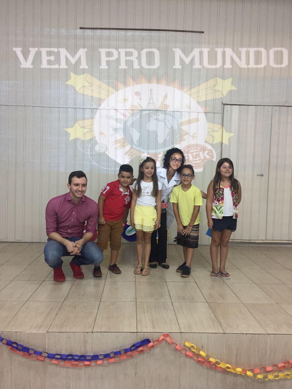 Fisk Caçapava/SP - Formatura kids