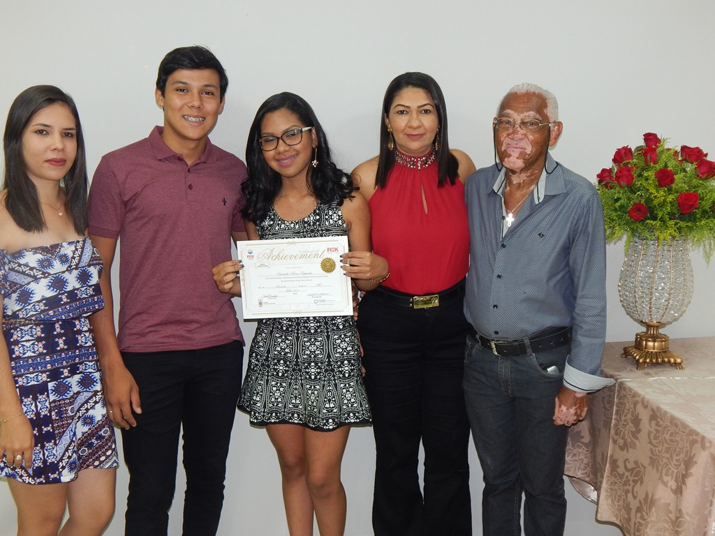 Fisk Arcoverde/PE - Entrega de certificado final