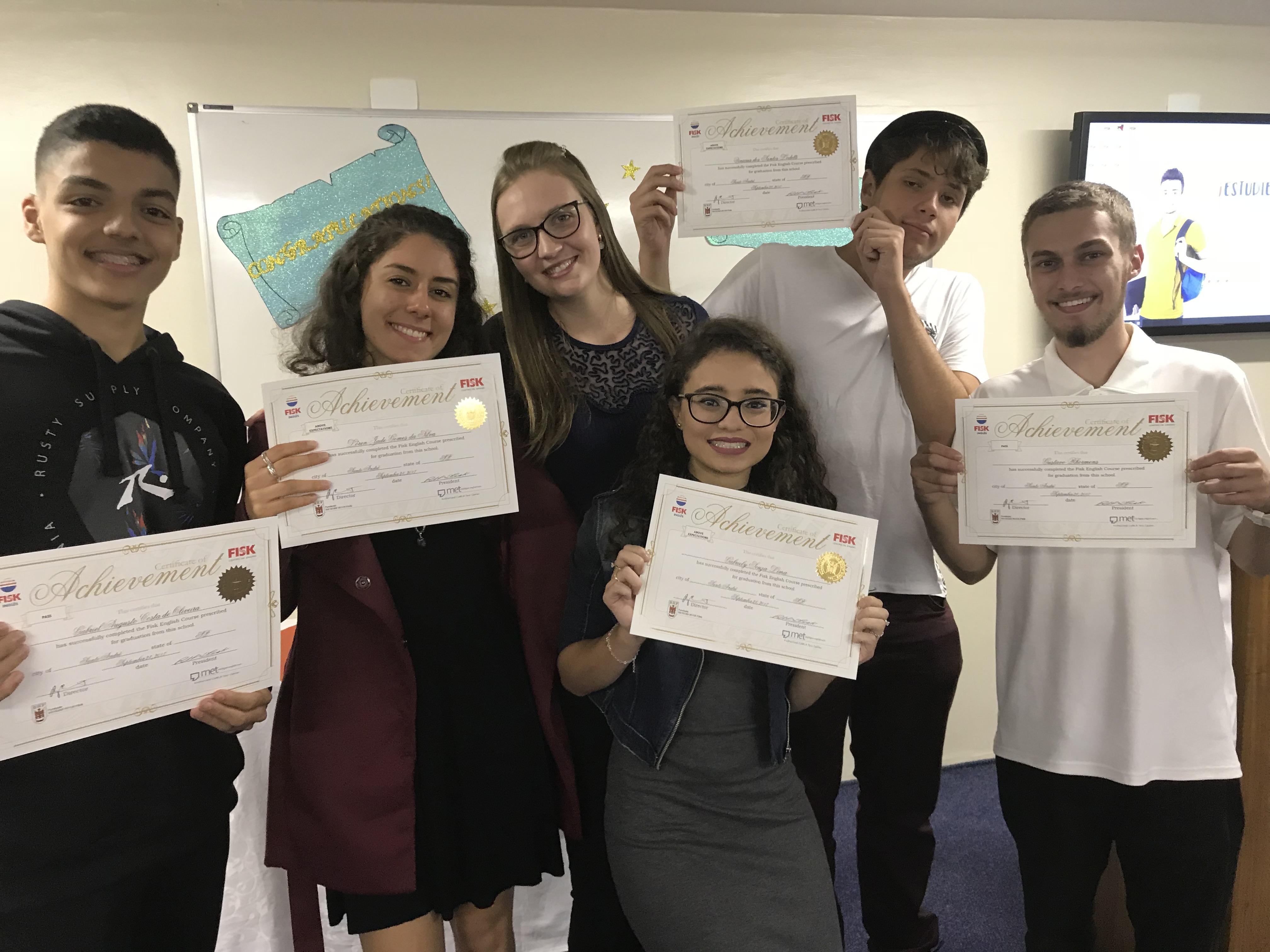 Fisk Santo André 4/SP - Entrega de Certificados de Fevereiro 2018
